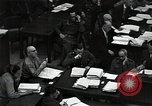 Image of Hartley Shawcross Nuremberg Germany, 1946, second 8 stock footage video 65675024493