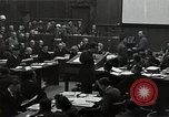 Image of Nuremberg Trials Nuremberg Germany, 1945, second 9 stock footage video 65675024500