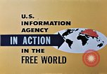 Image of United States Information Agency operations United States USA, 1954, second 3 stock footage video 65675024522