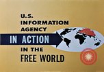 Image of United States Information Agency operations United States USA, 1954, second 7 stock footage video 65675024522