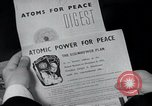 Image of Atoms for Peace exhibits and propaganda United States USA, 1954, second 1 stock footage video 65675024534