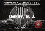 Image of destroyers launched Kearny New Jersey USA, 1939, second 5 stock footage video 65675024543