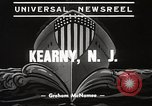 Image of destroyers launched Kearny New Jersey USA, 1939, second 7 stock footage video 65675024543