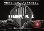 Image of destroyers launched Kearny New Jersey USA, 1939, second 8 stock footage video 65675024543