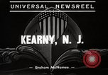 Image of destroyers launched Kearny New Jersey USA, 1939, second 9 stock footage video 65675024543
