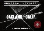 Image of University of California Bears crew team training Oakland California USA, 1939, second 1 stock footage video 65675024550