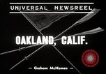 Image of University of California Bears crew team training Oakland California USA, 1939, second 3 stock footage video 65675024550