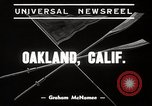 Image of University of California Bears crew team training Oakland California USA, 1939, second 4 stock footage video 65675024550