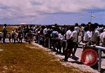 Image of astronauts and their departure Grand Turk Island, 1962, second 2 stock footage video 65675024579