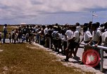 Image of astronauts and their departure Grand Turk Island, 1962, second 5 stock footage video 65675024579
