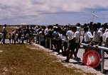 Image of astronauts and their departure Grand Turk Island, 1962, second 6 stock footage video 65675024579