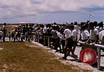 Image of astronauts and their departure Grand Turk Island, 1962, second 7 stock footage video 65675024579