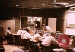 Image of NASA Manned Spacecraft Center mission control room Cape Canaveral Florida USA, 1962, second 1 stock footage video 65675024581