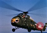 Image of U.S.  Marine Corps UH 34D helicopter Atlantic Ocean, 1962, second 9 stock footage video 65675024589