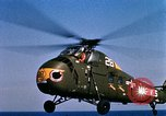 Image of U.S.  Marine Corps UH 34D helicopter Atlantic Ocean, 1962, second 10 stock footage video 65675024589