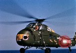 Image of U.S.  Marine Corps UH 34D helicopter Atlantic Ocean, 1962, second 11 stock footage video 65675024589
