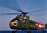 Image of U.S.  Marine Corps UH 34D helicopter Atlantic Ocean, 1962, second 12 stock footage video 65675024589