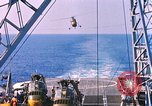 Image of US Marine Corp UH 34D helicopter Atlantic Ocean, 1962, second 5 stock footage video 65675024594