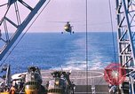 Image of US Marine Corp UH 34D helicopter Atlantic Ocean, 1962, second 7 stock footage video 65675024594