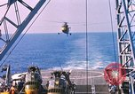 Image of US Marine Corp UH 34D helicopter Atlantic Ocean, 1962, second 8 stock footage video 65675024594