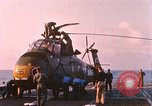 Image of US Marine Corps UH 34D helicopter Atlantic Ocean, 1962, second 1 stock footage video 65675024596
