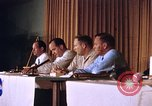 Image of press conference Cocoa Beach Florida USA, 1962, second 3 stock footage video 65675024602