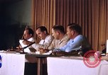 Image of press conference Cocoa Beach Florida USA, 1962, second 4 stock footage video 65675024602