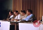 Image of press conference Cocoa Beach Florida USA, 1962, second 9 stock footage video 65675024602