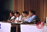 Image of press conference Cocoa Beach Florida USA, 1962, second 11 stock footage video 65675024602