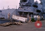 Image of departure of USS Dewey Norfolk Virginia USA, 1962, second 9 stock footage video 65675024617
