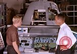 Image of astronauts in procedure trainer United States USA, 1960, second 8 stock footage video 65675024630