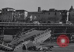 Image of bomb wrecked bridge Capua Italy, 1943, second 3 stock footage video 65675024687