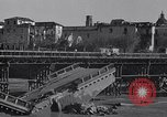Image of bomb wrecked bridge Capua Italy, 1943, second 4 stock footage video 65675024687