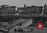 Image of bomb wrecked bridge Capua Italy, 1943, second 6 stock footage video 65675024687
