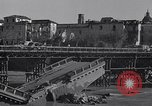 Image of bomb wrecked bridge Capua Italy, 1943, second 7 stock footage video 65675024687