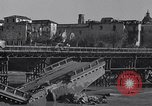 Image of bomb wrecked bridge Capua Italy, 1943, second 8 stock footage video 65675024687