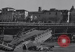 Image of bomb wrecked bridge Capua Italy, 1943, second 9 stock footage video 65675024687