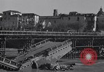Image of bomb wrecked bridge Capua Italy, 1943, second 10 stock footage video 65675024687
