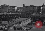 Image of bomb wrecked bridge Capua Italy, 1943, second 12 stock footage video 65675024687