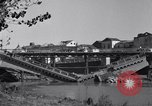 Image of destroyed bridge Capua Italy, 1943, second 6 stock footage video 65675024688