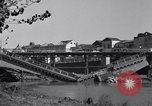 Image of destroyed bridge Capua Italy, 1943, second 7 stock footage video 65675024688