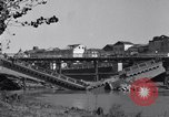 Image of destroyed bridge Capua Italy, 1943, second 8 stock footage video 65675024688
