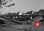 Image of destroyed bridge Capua Italy, 1943, second 10 stock footage video 65675024688