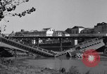 Image of destroyed bridge Capua Italy, 1943, second 11 stock footage video 65675024688