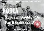 Image of Seesaw battle Korea, 1950, second 1 stock footage video 65675024694
