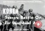 Image of Seesaw battle Korea, 1950, second 3 stock footage video 65675024694