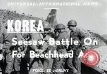 Image of Seesaw battle Korea, 1950, second 4 stock footage video 65675024694