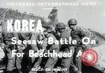 Image of Seesaw battle Korea, 1950, second 5 stock footage video 65675024694