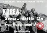 Image of Seesaw battle Korea, 1950, second 6 stock footage video 65675024694