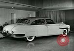 Image of Lincoln-Mercury automobile with arm rest New York United States USA, 1949, second 9 stock footage video 65675024705